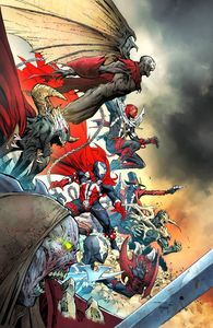 [Spawn #300 (Cover O Opena Virgin Variant) (Product Image)]