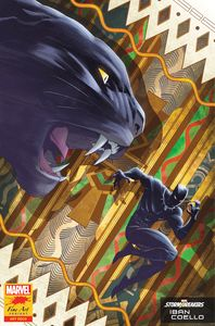 [Black Panther #25 (Coello Stormbreakers Variant) (Product Image)]