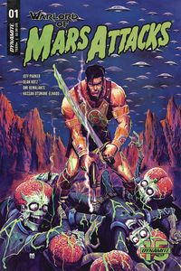 [Warlord Of Mars Attacks #1 (Cover B D`Alfonso) (Product Image)]
