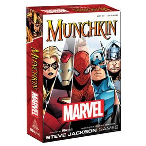 [Munchkin: Card Game: Marvel Edition (Product Image)]