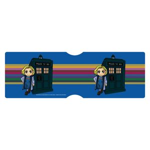 [Doctor Who: 13th Doctor: Travel Pass Holder: Rainbow TARDIS (SDCC 2018) (Product Image)]