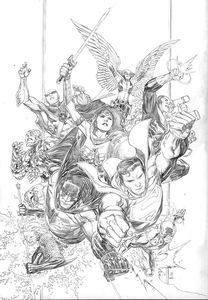 [Justice League #01 (Jim Chueng Pencils Only Variant Edition) (Product Image)]