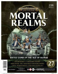 [Warhammer: Age Of Sigmar: Mortal Realms #27 (Product Image)]