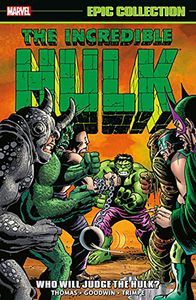 [Incredible Hulk: Epic Collection: Who Will Judge The Hulk (Product Image)]