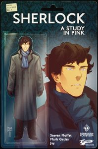 [Sherlock: A Study In Pink #1 (Forbidden Planet/Jetpack Action Figure Variant) (Product Image)]