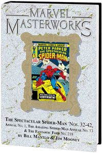 [Marvel Masterworks: Spectacular Spider-Man: Volume 3 (DM Variant Edition 290 Hardcover) (Product Image)]