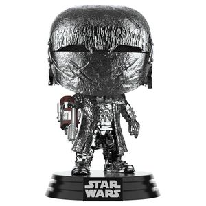 [Star Wars: The Rise Of Skywalker: Pop! Vinyl Bobblehead: Hematite Chrome Knight Of Ren With Cannon (Product Image)]