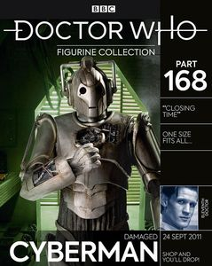 [Doctor Who: Figurine Collection #168: Damaged Cyberman (Product Image)]