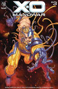 [X-O Manowar (2020) #3 (Cover B Nakayama) (Product Image)]