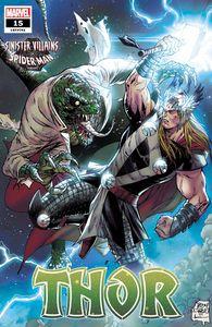 [Thor #15 (Daniel Spider-Man Villains Variant) (Product Image)]