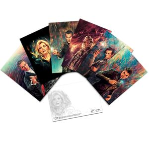 [Doctor Who: Postcard Set By Alice X Zhang (Product Image)]