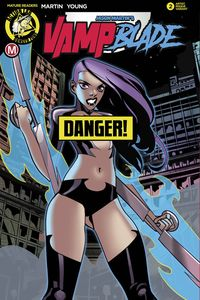 [Vampblade: Season Two #2 (Cover D Celor Risque) (Product Image)]