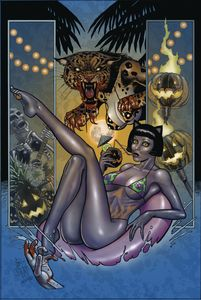 [Tarot: Witch Of The Black Rose #124 (Alt Paths Boo Cat) (Product Image)]