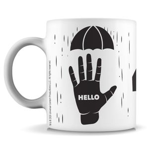 [The Umbrella Academy: Mug: Klaus Hello Goodbye (Product Image)]