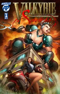 [The cover for Valkyrie Saviors #1]