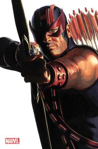 [Avengers #42 (Alex Ross Hawkeye Timeless Virgin Variant) (Product Image)]