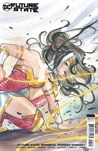 [Future State: Immortal Wonder Woman #1 (Peach Momoko Card Stock Variant) (Product Image)]