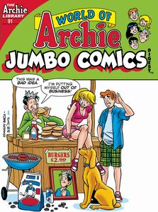 [World Of Archie: Jumbo Comics Digest #91 (Product Image)]