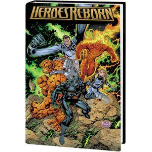 [Heroes Reborn: Omnibus (Lee DM Variant New Printing Hardcover) (Product Image)]
