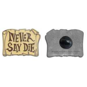[The Goonies: Enamel Pin Badge: Never Say Die! (Product Image)]