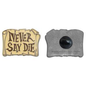 [The Goonies: Enamel Pin Badge: Never Say Die! (Product Image)]
