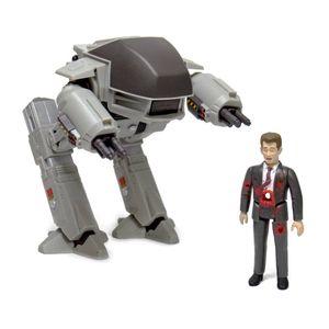 [Robocop: ReAction Action Figure 2-Pack: ED-209 V Mr Kinney (Product Image)]