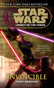 [Star Wars: Legacy of the Force: Book 9: Invincible (Product Image)]