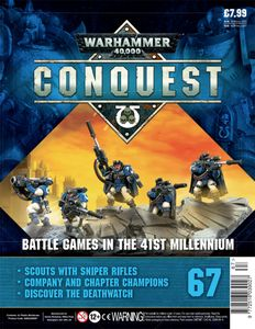 [Warhammer 40K: Conquest: Figurine Collection #67 (Product Image)]