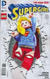[Supergirl #36 (Lego Variant Edition) (Product Image)]