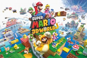 [Super Mario 3D World: Poster (Product Image)]