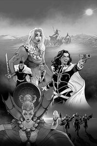 [Dejah Thoris: 2019 (Georgiev Black & White Virgin Variant) (Product Image)]