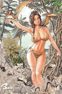 [Cavewoman: Destination Jungle #1 (Cover D Root) (Product Image)]