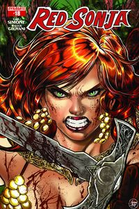 [Red Sonja #18 (Cover B Melo) (Product Image)]