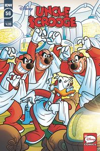 [Uncle Scrooge #56 (Cover A Gervasio) (Product Image)]