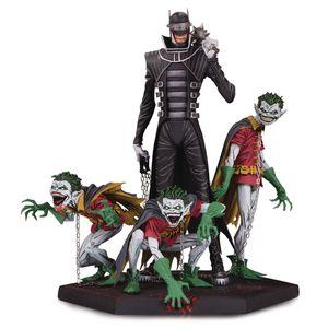 [Dark Nights Metal: Statue: Batman Who Laughs & Robin Minions (Product Image)]