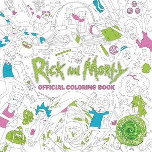 [Rick & Morty: Colouring Book (Product Image)]