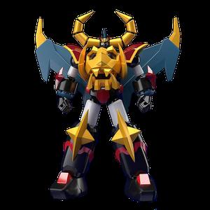 [Gaiking: Legend Daiku-Maryu: Model Kit: Moderoid Gaiking (Product Image)]