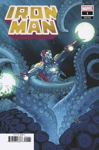 [Iron Man #1 (Silva Launch Variant) (Product Image)]