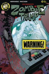 [Zombie Tramp: Ongoing #78 (Cover B Maccagni Risque) (Product Image)]