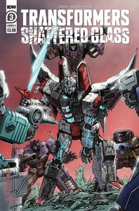 [Transformers: Shattered Glass #3 (Cover A Milne) (Product Image)]