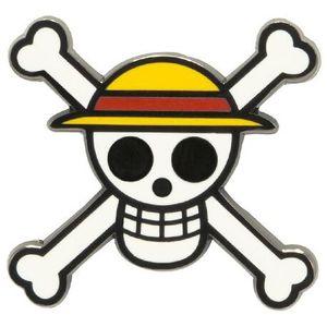 [One Piece: Enamel Pin Badge: Skull (Product Image)]