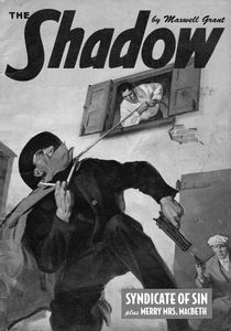 [The Shadow: Volume 133: Syndicate Of Sin: Plus Merry Mrs. Macbeth (Double Novel) (Product Image)]