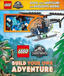 [LEGO: Jurassic World: Build Your Own Adventure (Hardcover) (Product Image)]