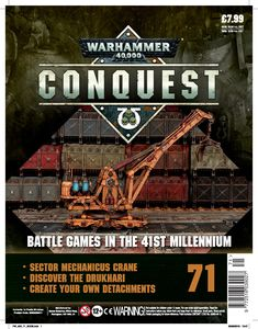 [Warhammer 40K: Conquest: Figurine Collection #71 (Product Image)]