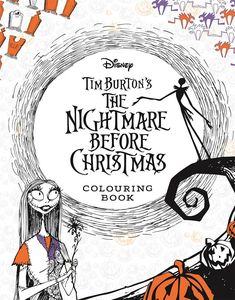 [Tim Burton's The Nightmare Before Christmas: Colouring Book (Product Image)]