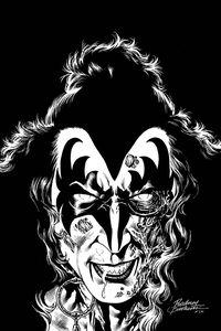 [Kiss: Zombies #2 (Buchemi B&W Virgin Variant) (Product Image)]