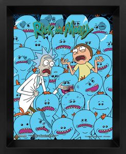 [Rick & Morty: Lenticular Poster: Mr Meeseeks (Product Image)]