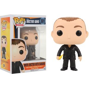 [Doctor Who: Pop! Vinyl Figures: 9th Doctor With Banana (Product Image)]