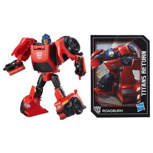 [Transformers: Generations: Action Figure: Titans Return Legends Roadburn (Product Image)]