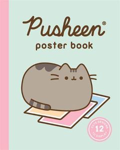[Pusheen Poster Book: 12 Cute Designs To Display (Product Image)]